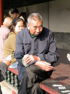 poor elderly China
