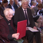 A 102-year-old woman gets a PhD degree