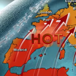 Summer 2015 is one of the hottests across Europe ever registered