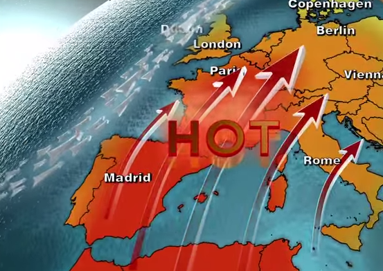 It's getting hot in Europe - heatwave strikes