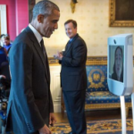 Robotics: President Obama welcomes a telepresence robot to the White House