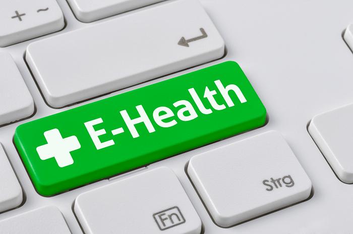 E health logo