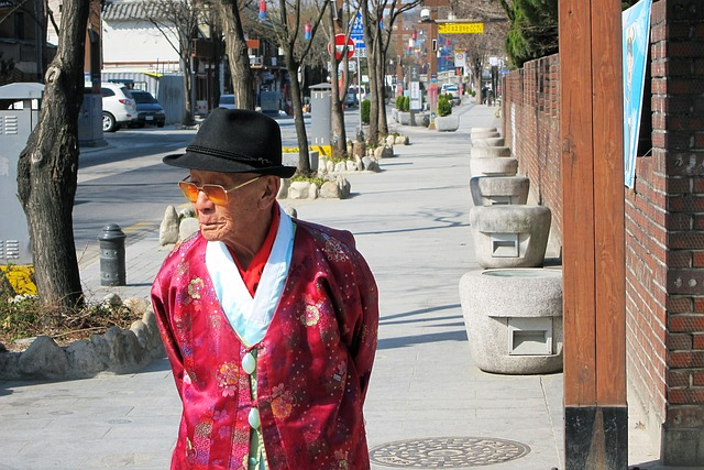 Korean senior elderly
