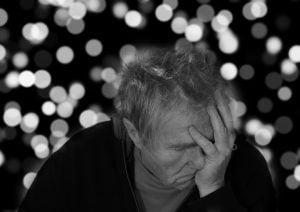 Alzheimer's disease man
