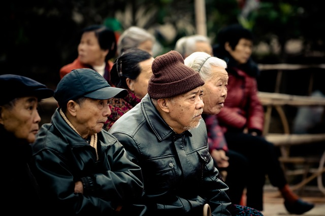 elderly asia Putian China population ageing