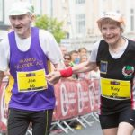 They finished the Cork City marathon at age 80