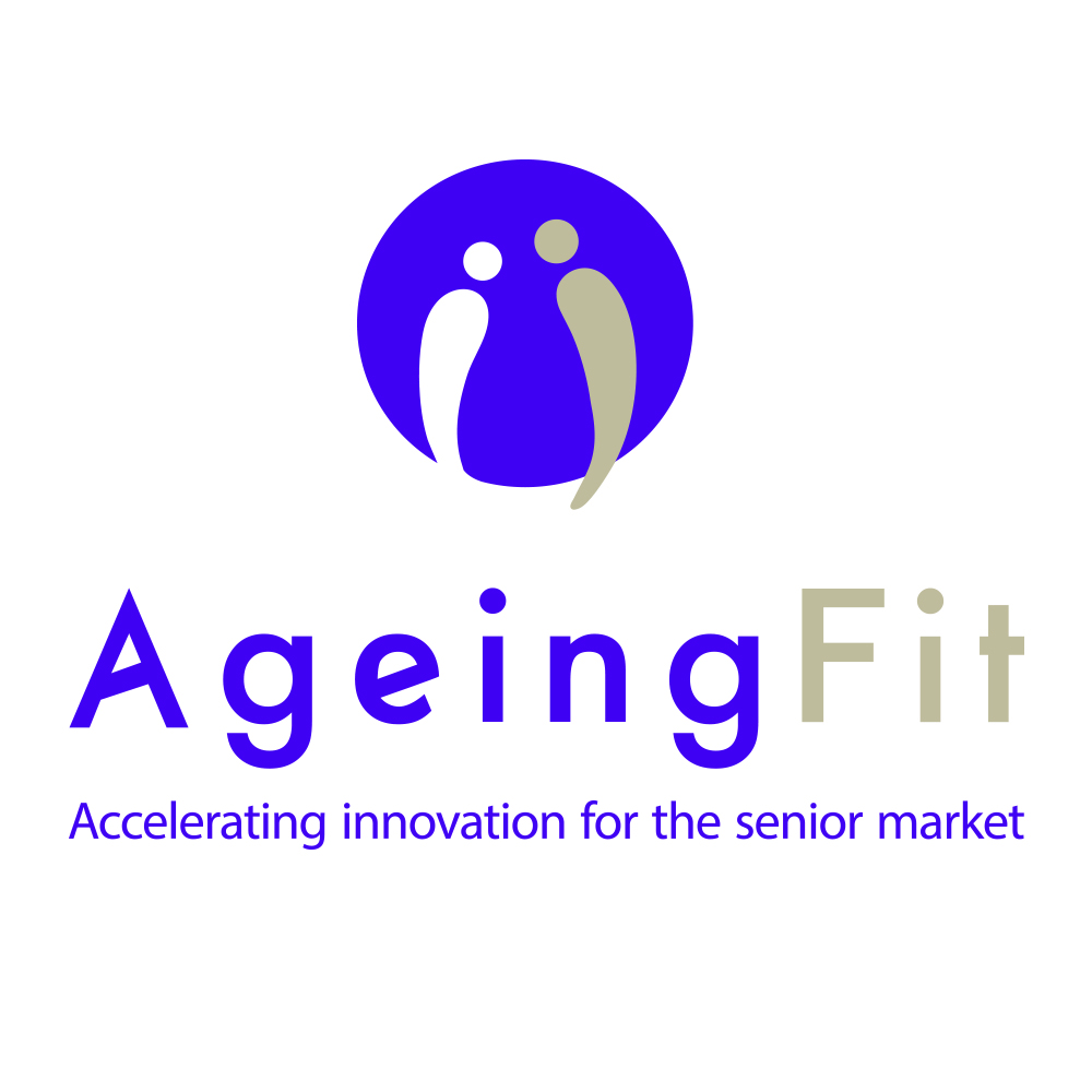 Logo AgeingFit silver economy innovation business convention France Lille