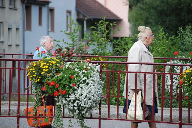 Elderly walk