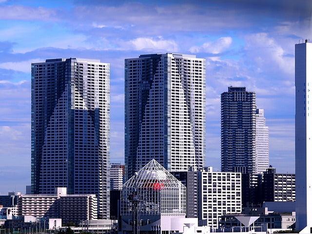 Japan Tokyo residential buildings