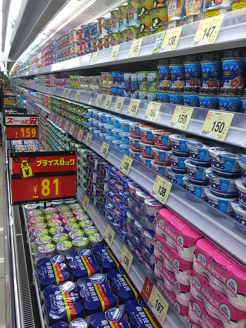 Japan convenience store Kombini