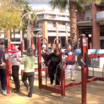 In Spain, play areas for seniors are all the rage
