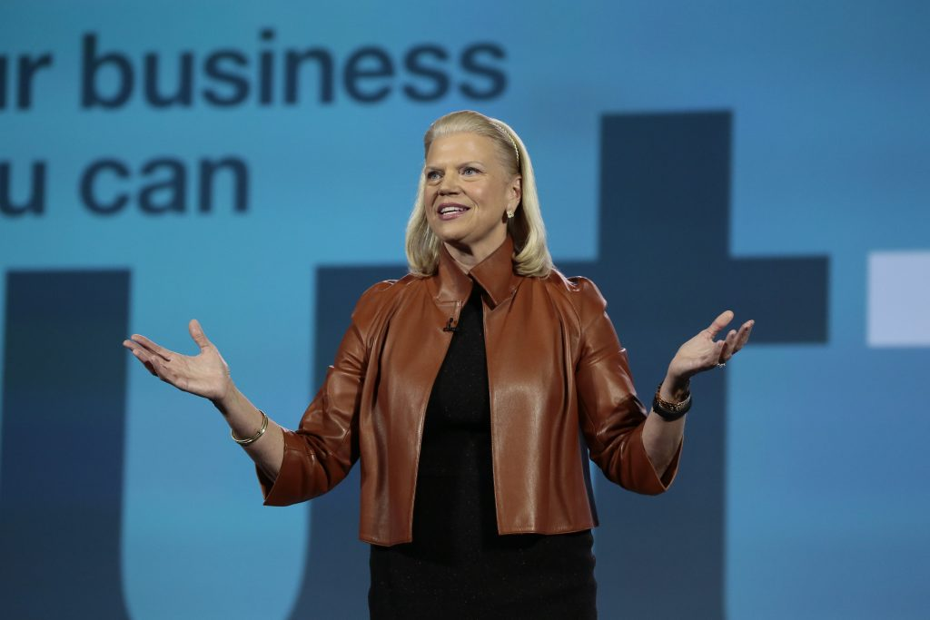 IBM CEO Ginny Rometty takes the stage at CES 2016