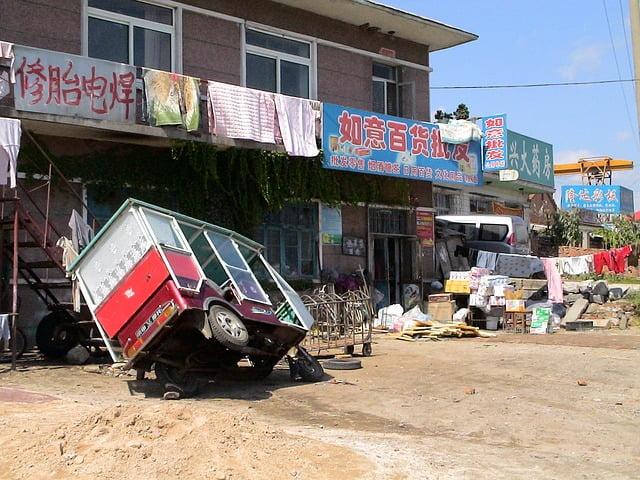 The elderly in China's rural communities