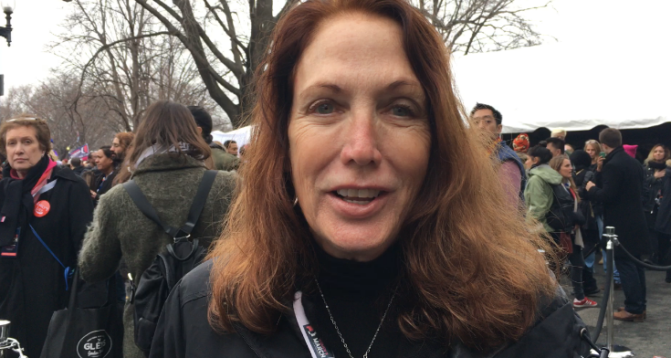 Teresa Shook - LA TIMES - Women's March