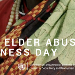 Return on the world elder abuse awareness day, the 15th June of 2017