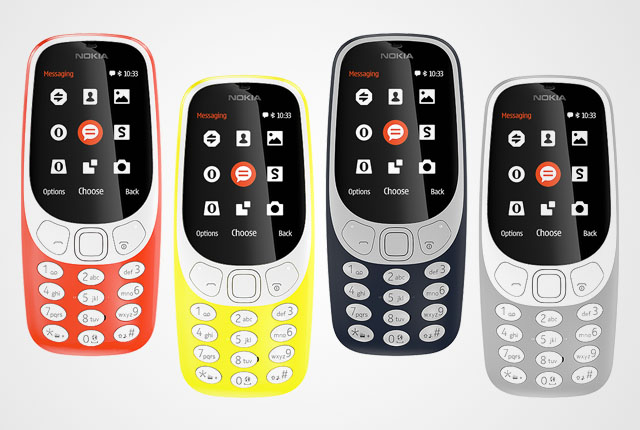 Nokia 3310 - The icon is back