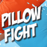 A giant pillow fight organized in Luxembourg against Parkinson's disease