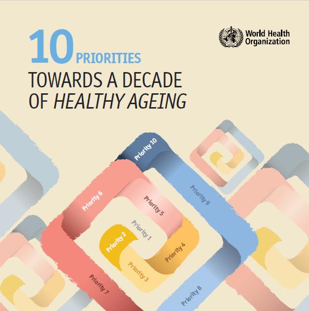 10 priorities healthy ageing
