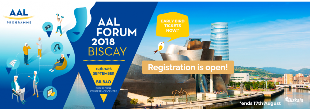 AAL Programme Forum 2018 Biscay @ Euskalduna Conference Centre